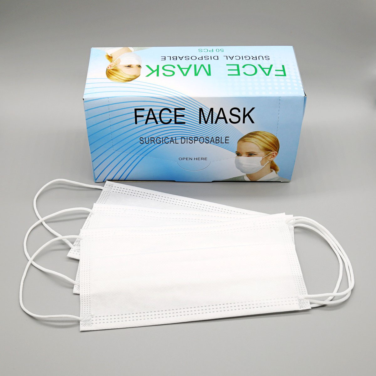 Tattoo With Surgical Face Mask Disposable Earloop Soku Supply